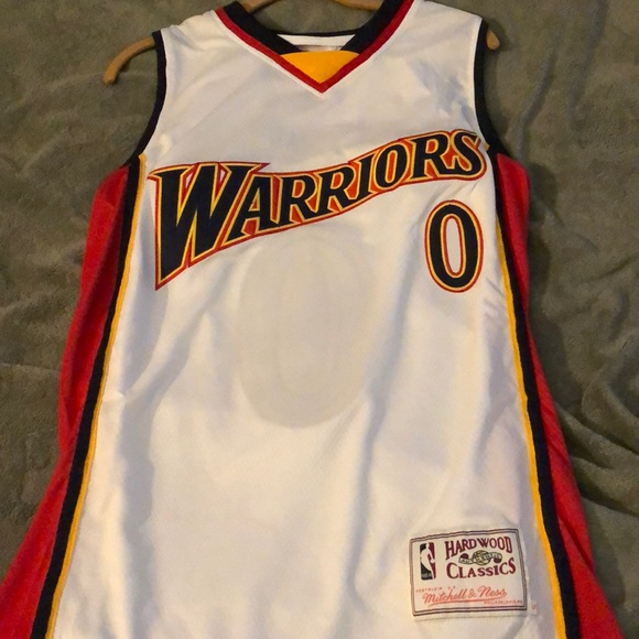 buy online 0bbe1 8beb5 Gilbert Arenas Golden State Warriors Jersey Small